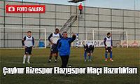 Çaykur Rizespor Elazığspor Maçı Hazırlıkları
