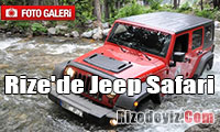 Rize`de Jeep Safari