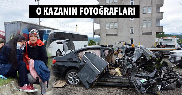 Fatsa`da Kaza 2 Ölü 2 Yaralı