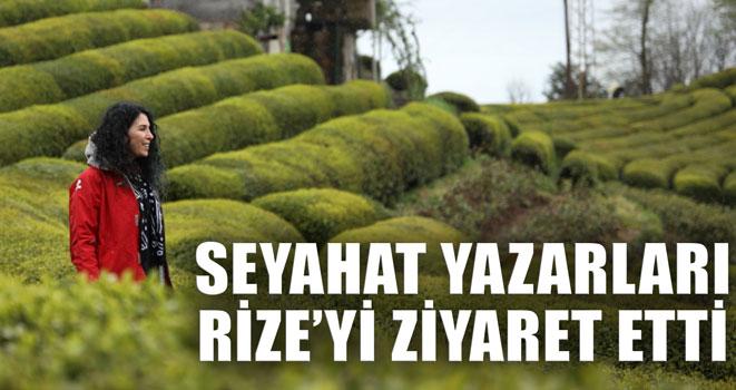 Seyahat Yazarları Rize`yi Ziyaret Etti