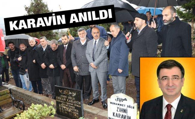 Osman Karavin Mezarı Başında Anıldı