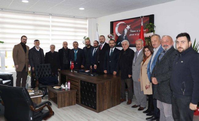 AK Parti İl Başkanı Alim'den STK Ziyaretleri
