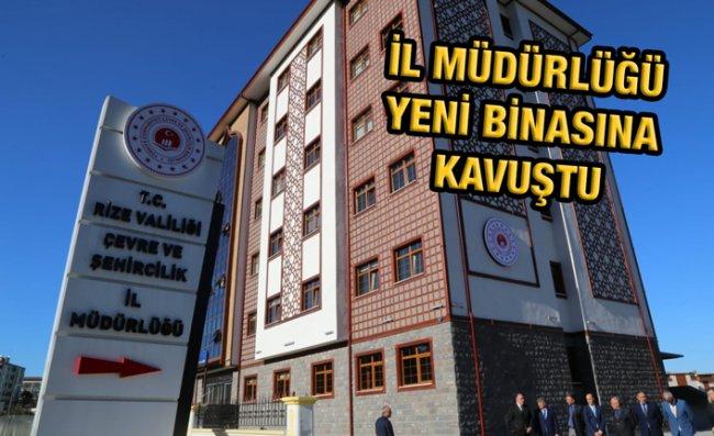Vali Çeber Müdürlüğün Yeni Binasını İnceledi