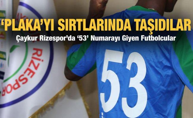 Atmaca'nın 53 Numaralı Futbolcuları