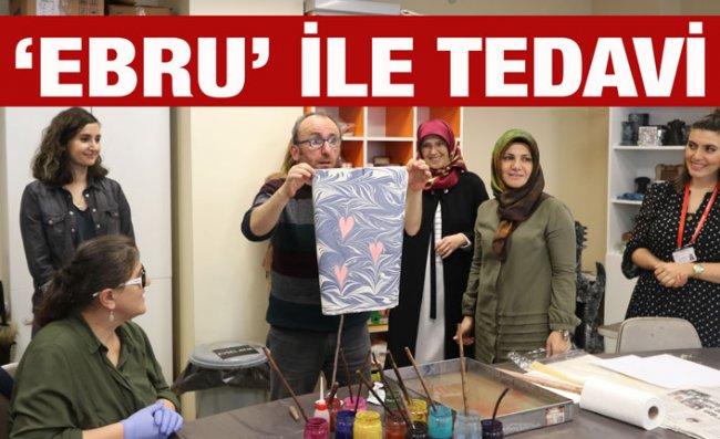 Rize'de Hastalara Ebru Sanatıyla Tedavi İmkanı