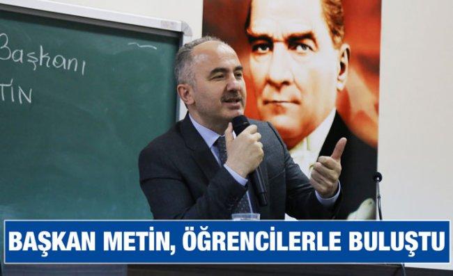 Başkan Metin, 'Kariyer Günleri'ne Katıldı