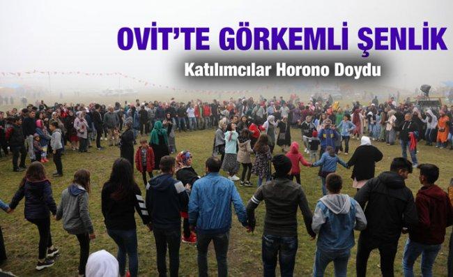 Ovit Yaylası'nda Festivale Katılanlar Horona Doydu