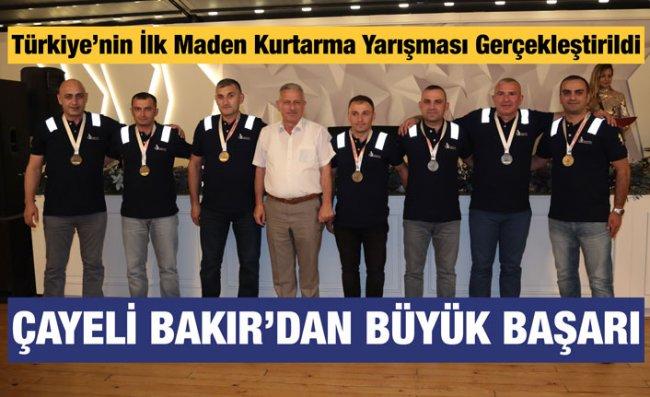 Çayeli Bakır Yarışmada Ödülleri Topladı