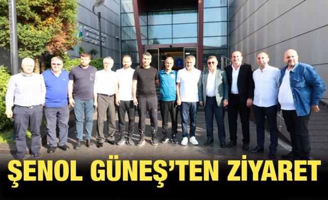 Şenol Güneş, Çaykur Rizespor'u Ziyaret Etti