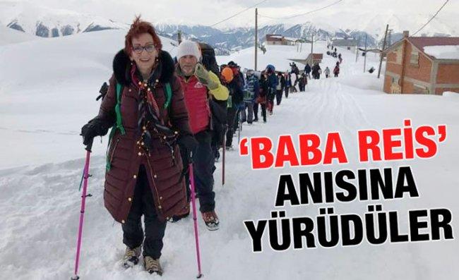 9. Çağrankaya Kar Yürüyüşü Ekrem Orhon Adına Yapıldı