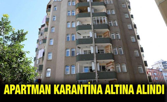 Rize'de Apartman Yöneticisi Binayı Karantinaya Aldı
