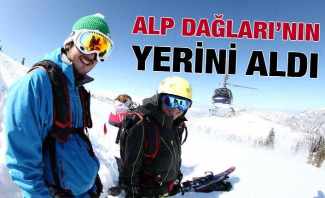Avrupalı ve Rus Kayakçıların Tercihi Kaçkar Dağları