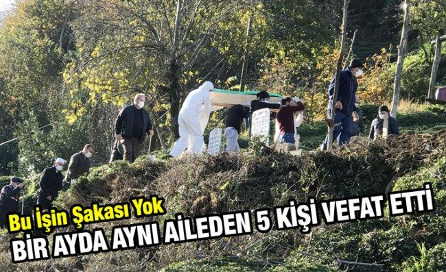 Aynı Aileden 5 Kişi, Bir Ay İçinde Kovid-19'dan Hayatını Kaybetti