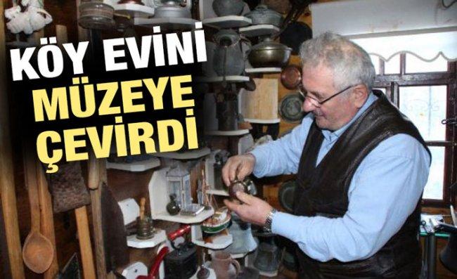 Dede Yadigarlarını Topladı, Köy Evini Müzeye Çevirdi