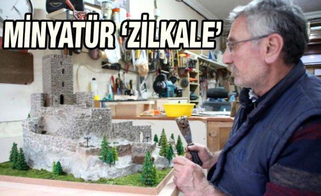 'En Görkemli Kale'nin Minyatürünü Yaptı