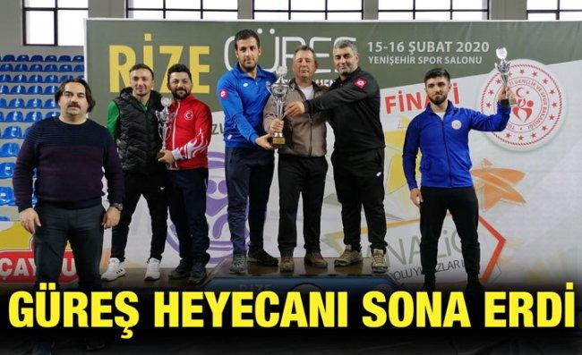 Anadolu Yıldızlar Ligi Güreş Türkiye Finalleri Sona Erdi