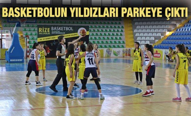 Basketbol Grup Birinciliği Müsabakaları Başladı