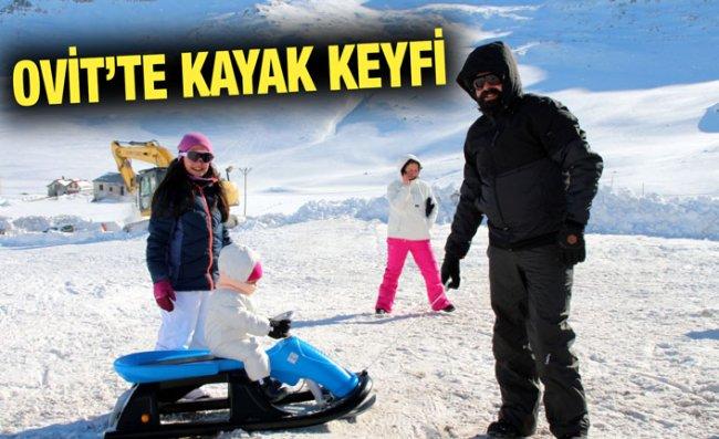 Ovit Dağı'nda Kış Spor Aktiviteleri Başladı