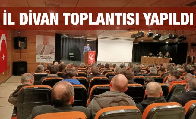 Yeniden Refah Partisi'nin İl Divan Toplantısı Yapıldı