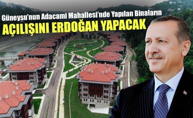 Yöre Mimarisine Uygun Yapıldı; Açılışı Erdoğan Yapacak