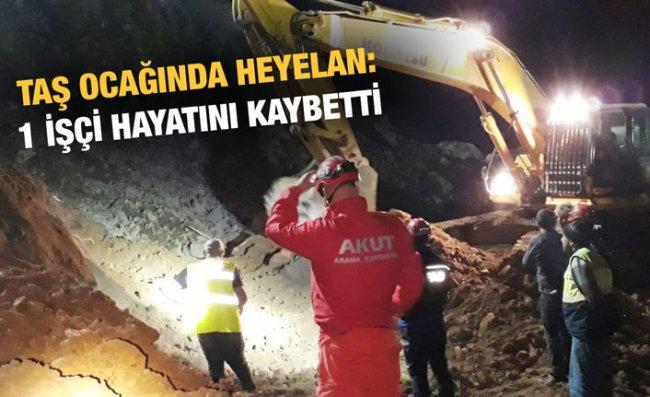 Havalimanı İnşaatındaki Heyelanda Operatör Öldü