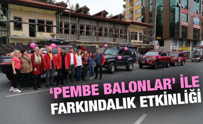 Erken Teşhisin Önemine 'Pembe Balonlar' ile Dikkat Çektiler