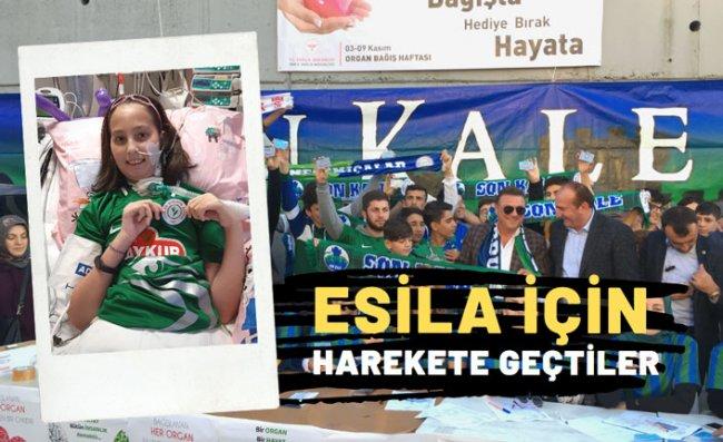 Esila'nın Çağrısına Çaykur Rizespor'dan Destek