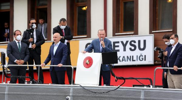 Erdoğan Küresel ısınmaya dikkat çekti