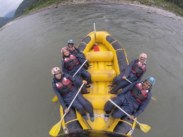 Talep arttı, Fırtına Deresi rafting botlarıyla doldu