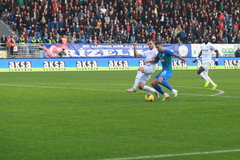 Süper Lig 13.Hafta I Çaykur Rizespor - İH Konyaspor: 3-1