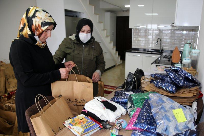 Rize'den Bitlis ve Siirt'te Bin Çocuğa Bayram Hediyesi