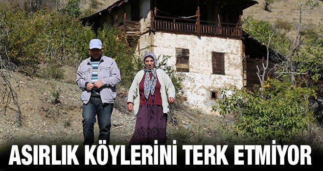 Çelik Ailesi Asırlık Köylerini Terk Etmiyor