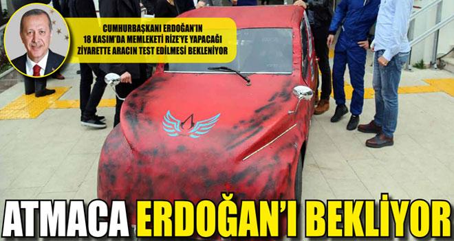 Test İçin Cumhurbaşkanı Erdoğan Bekleniyor