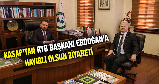 Başkan Kasap'tan RTB Başkanı Erdoğan'a Hayırlı Olsun Ziyareti