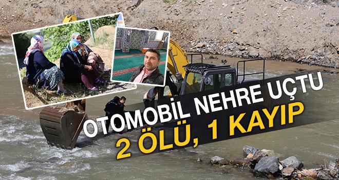 Artvin`de otomobil nehre uçtu: 2 ölü, 1 kayıp