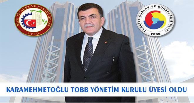 RTSO Başkanı Karamehmetoğlu TOBB Yönetim Kurulu Üyesi Oldu