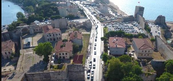 `Mutlu şehir` Sinop`ta tatilci patlaması