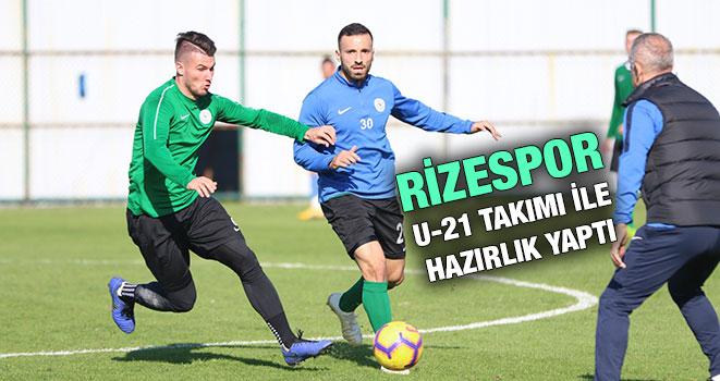 Rizespor'da Sivas Maçı Hazırlıkları Sürüyor