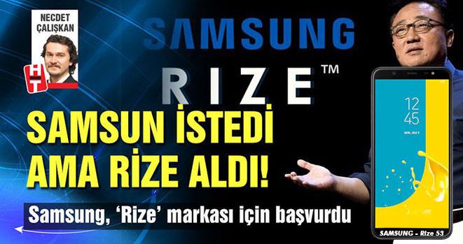 Samsung Rize İsimli Telefon Çıkartıyor