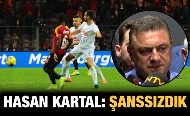 Hasan Kartal: Galatasaray Karşısında İyi Oynadık