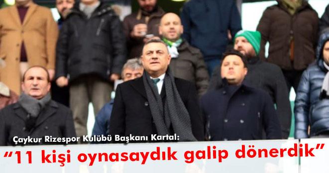 Hasan Kartal: Fenerbahçe`den üstündük