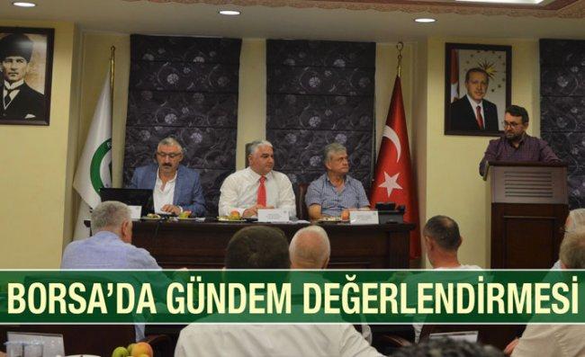 RTB'de Temmuz Ayı Meclis Toplantısı Yapıldı