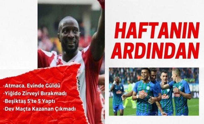 Süper Lig'de 13'üncü Hafta Tamamlandı