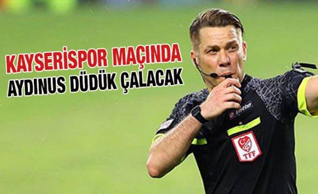 Süper Lig'de 14'üncü Hafta Hakemleri Açıklandı