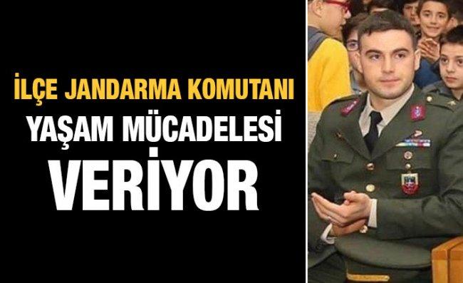 Çayeli Jandarma Komutanı Yoğun Bakıma Alındı