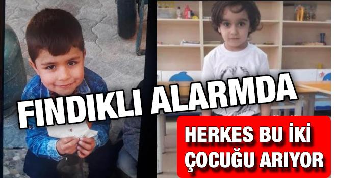 Rize'de İki Çocuk Kayıp Aranıyor