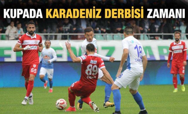 Çaykur Rizespor Kupada Samsunspor'u Konuk Ediyor
