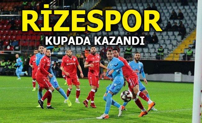 Rizespor Kupada Kazandı