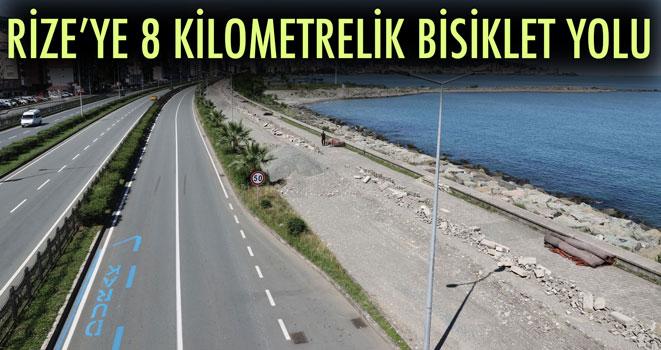 Rize Bisiklet Yoluna Kavuşuyor