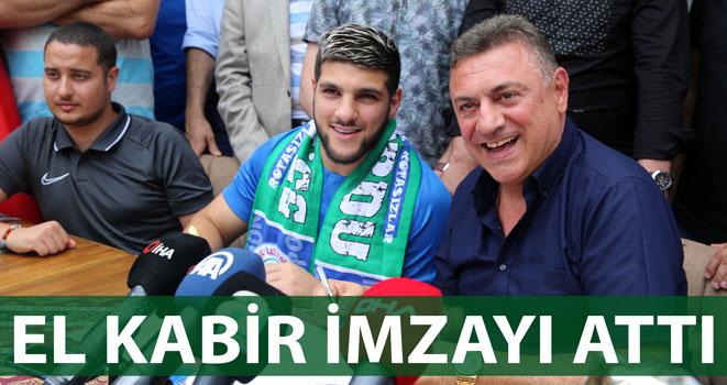Çaykur Rizespor El Kabir ile Sözleşme İmzaladı